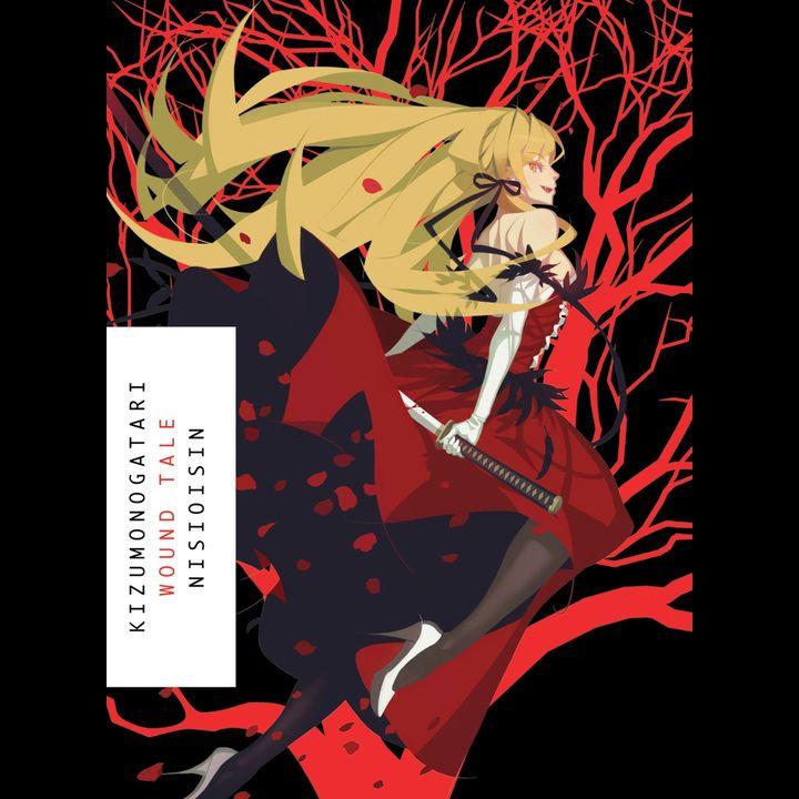 Light Novel Kizumonogatari: Wound Tale