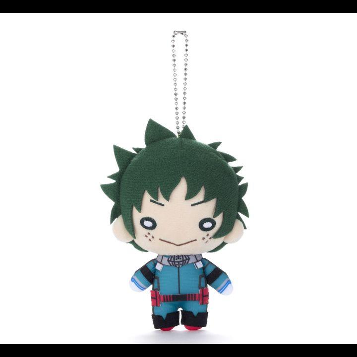 Nitotan My Hero Academia Plush with Ball Chain Midoriya Izuku (New Costume)