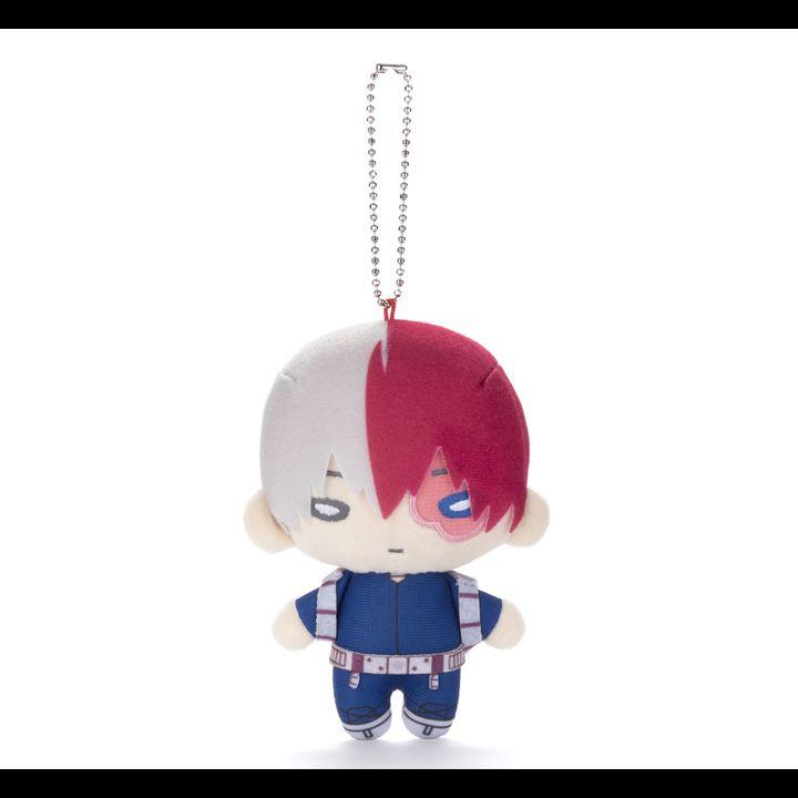 Nitotan My Hero Academia Plush with Ball Chain Todoroki Shoto (New Costume)