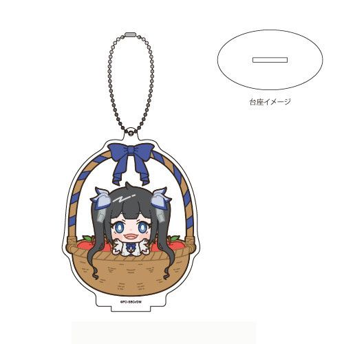 Acrylic Stand Key Chain Is It Wrong to Try to Pick Up Girls in a Dungeon?: Arrow of the Orion 04 Hestia (with Me)