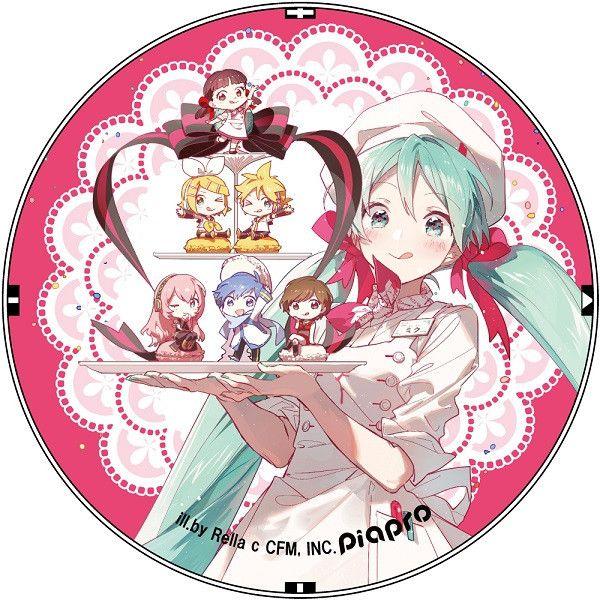 Hatsune Miku Characters Macaron Release Memorial Goods Can Badge