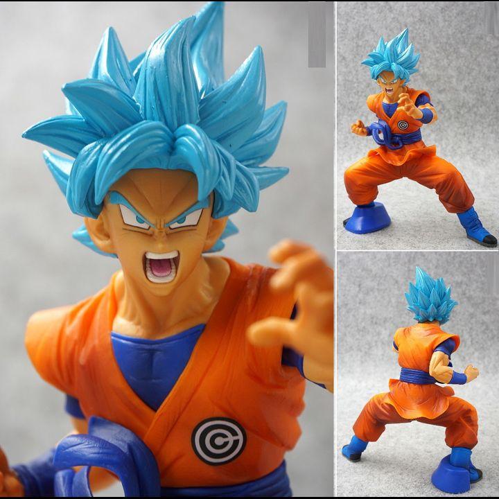 [JAPVER] PVC Chouzetsu Gikou Figure Son Goku SSGSS (18cm)