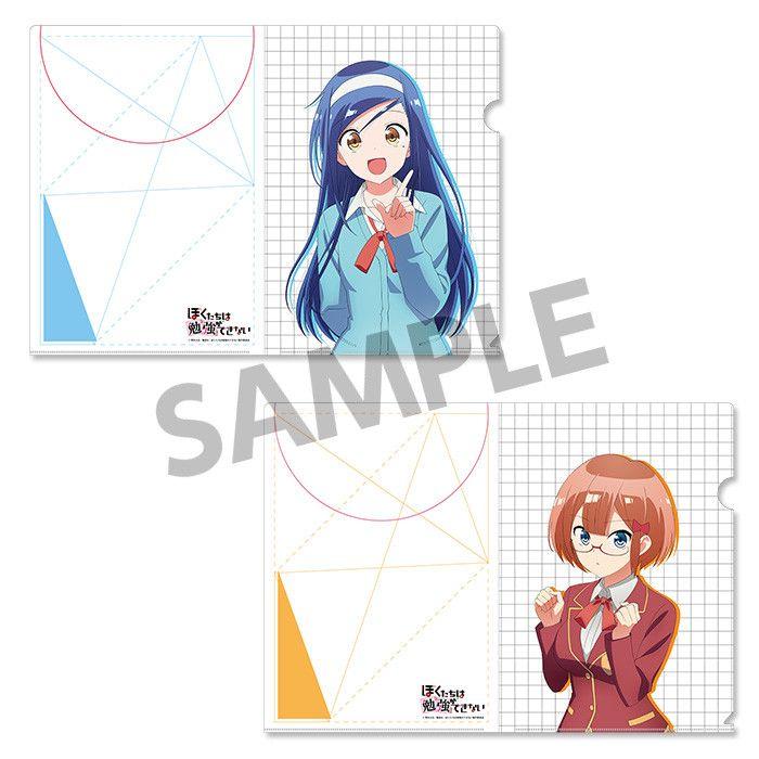 We Never Learn Clear File Set Furuhashi Fumino & Ogata Rizu