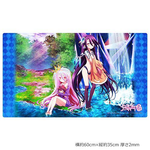 No Game No Life Zero Rubber Mat Shiro & Shuvi (60x35cm)