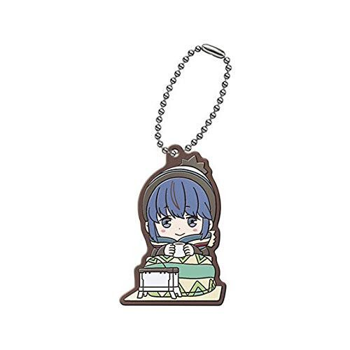 Yurucamp Capsule Rubber Mascot Shima Rin