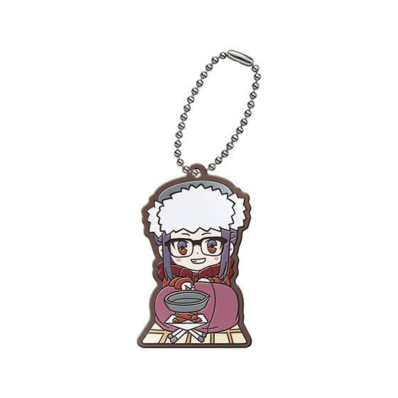 Yurucamp Capsule Rubber Mascot Oogaki Chiaki