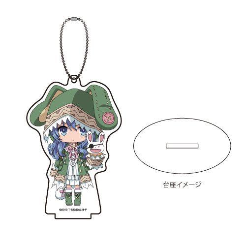 Acrylic Stand Key Chain  Date A Live III  02 Yoshino (Mini Character)