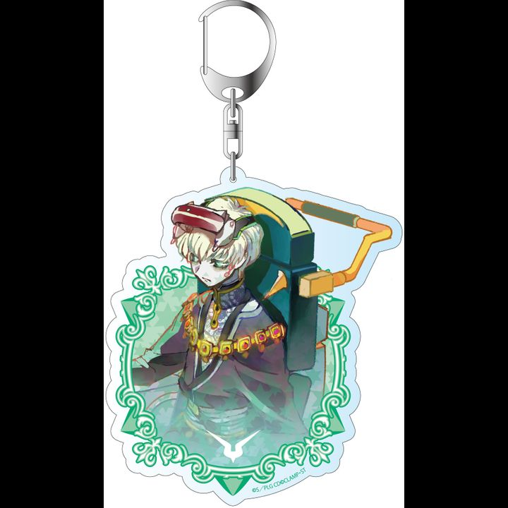 Code Geass Lelouch of the Re;Surrection Pale Tone Series Deka Key Chain Chalio