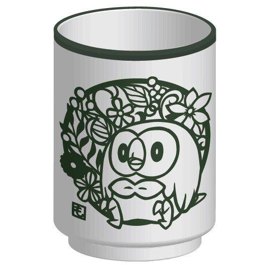 Pokemon Kirie Series Yunomi Rowlet A