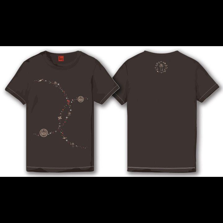 Touken Ranbu -ONLINE- Shokudaikiri Mitsutada T-shirt Sumi (Mens M/L Size)