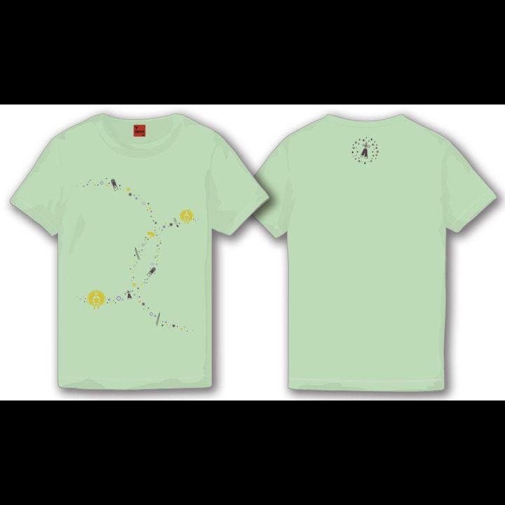 Touken Ranbu -ONLINE- Hizamaru T-shirt Melon (Mens M/L Size)