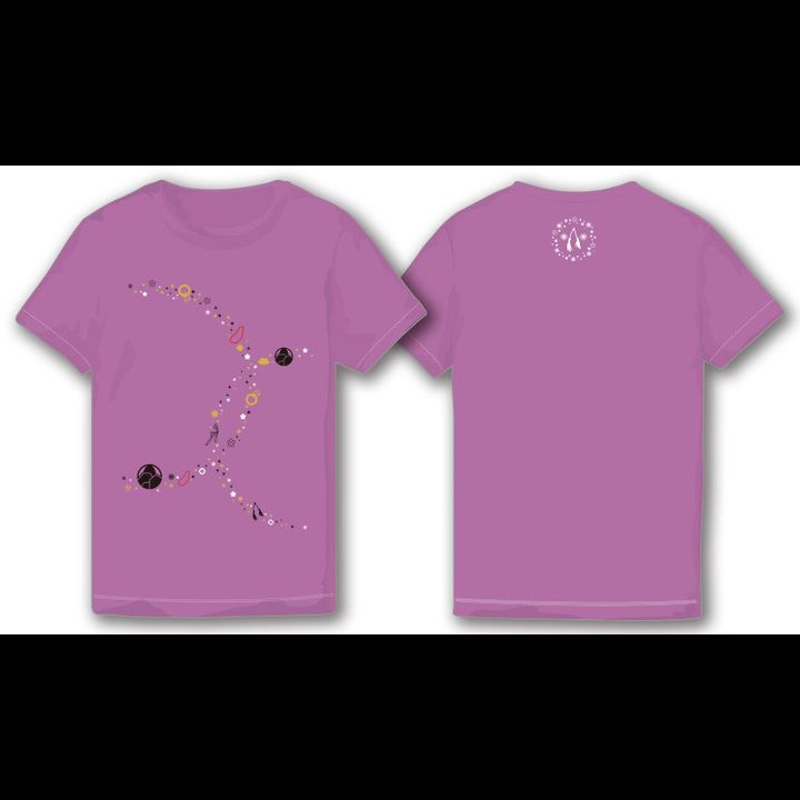 Touken Ranbu -ONLINE- Iwatoshi T-shirt Lavender (Ladies S/M/L Size)
