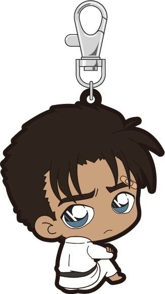 Detective Conan Bocchi-kun Rubber Strap Kyogoku Makoto