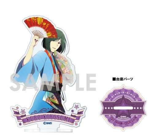 The Idolmaster SideM Acrylic Stand -1st STAGE & 2nd STAGE- F Kiyosumi Kuro