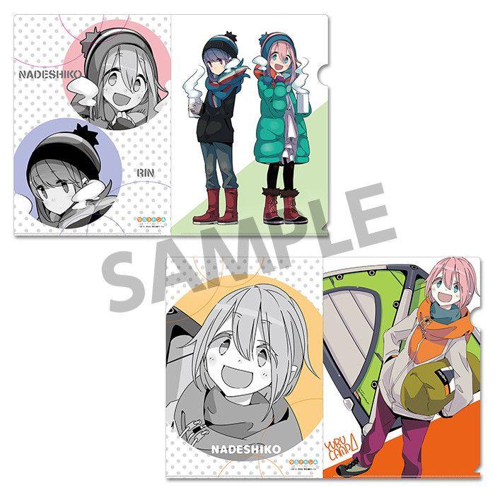 Yurucamp Clear File Set Original Edition Vol. 3 B
