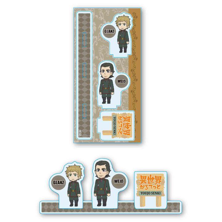 Isekai Quartet Acrylic Figur Glanz & Weib