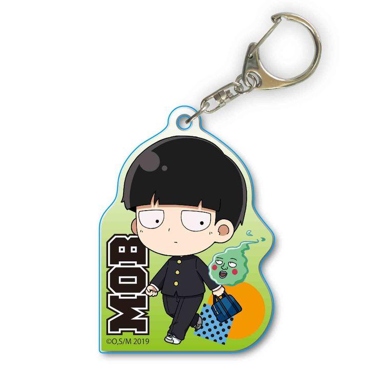 Mob Psycho 100 II TEKUTOKO Acrylic Key Chain Kageyama Shigeo