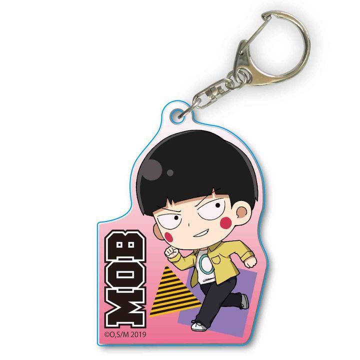 Mob Psycho 100 II TEKUTOKO Acrylic Key Chain Kageyama Shigeo Addicted to Ekubo