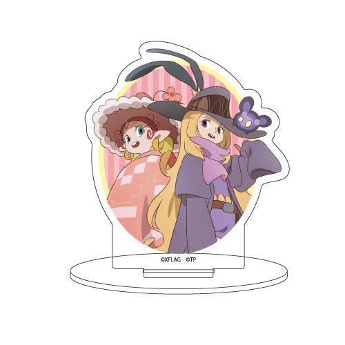 Chara Acrylic Figur Pandora to Akubi 01 Pandora & Akubi Pink (Western)