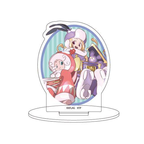Chara Acrylic Figur Pandora to Akubi 04 Pandora & Akubi Green (Winter)