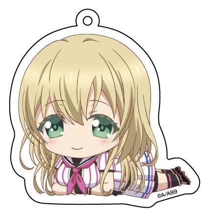 Hachigatsu no Cinderella Nine Gororin Acrylic Key Chain 3 Nozaki Yuki