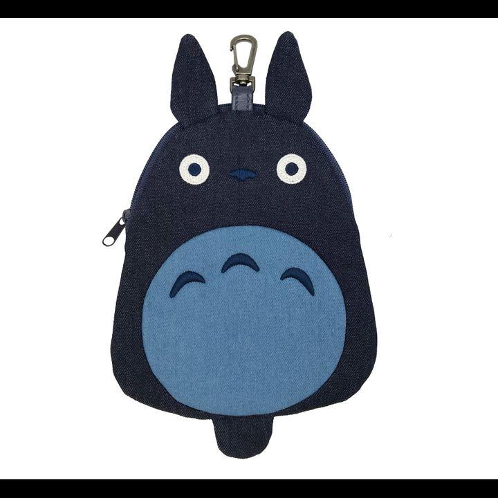 Studio Ghibli Diecut Denim Pouch My Neighbor Totoro 1 Big Totoro