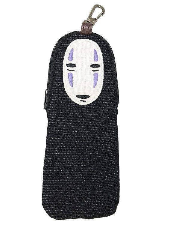 Studio Ghibli Diecut Denim Pouch Spirited Away 4 No-face