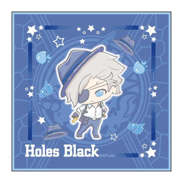 Monster Strike Design produced by Sanrio Hand Towel Holes Black