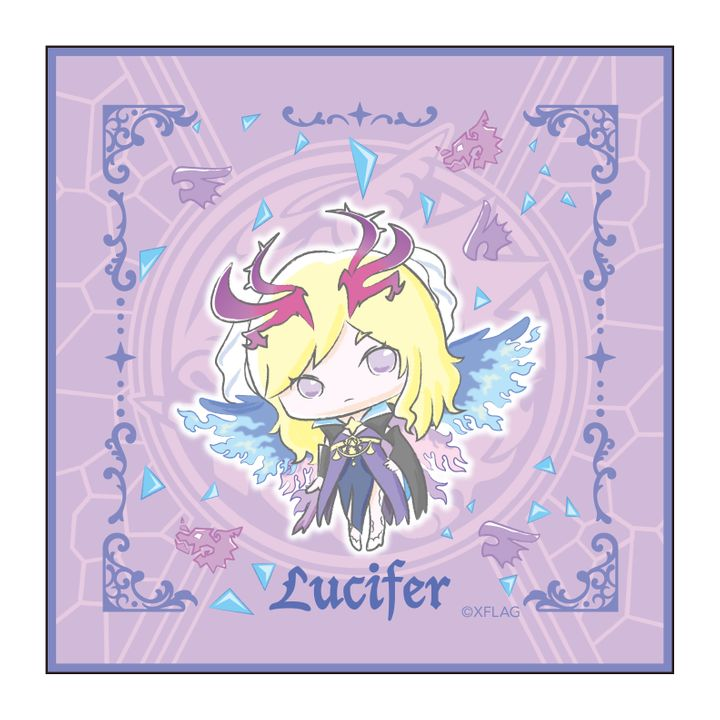 Monster Strike Design produced by Sanrio Hand Towel Lucifer