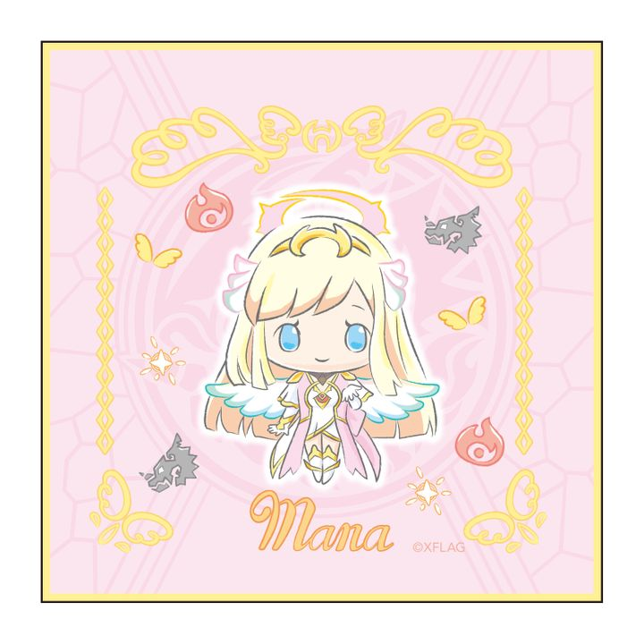 Monster Strike Design produced by Sanrio Hand Towel Mana