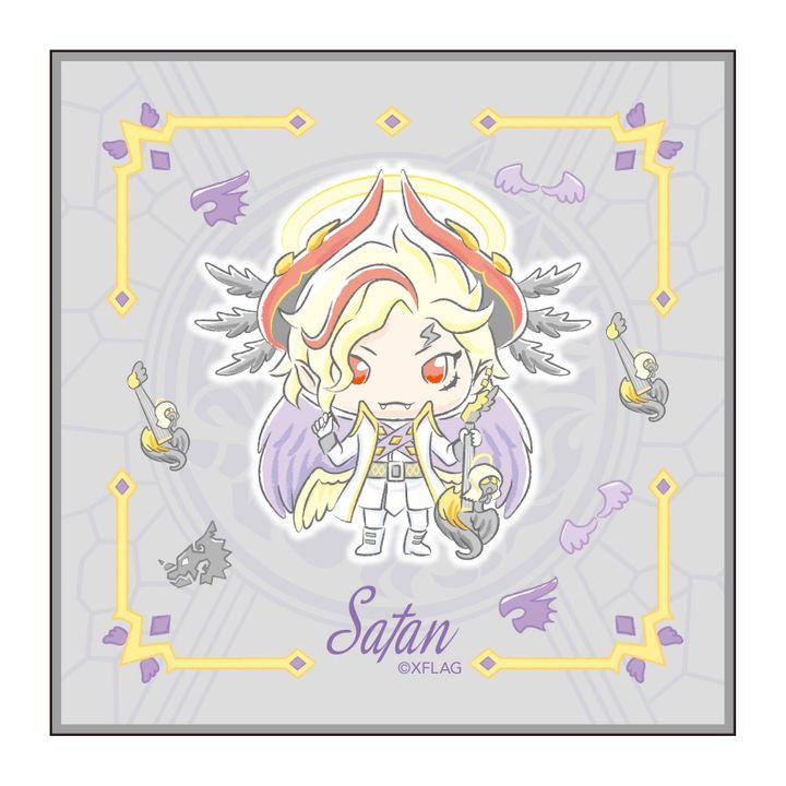 Monster Strike Design produced by Sanrio Hand Towel Satan