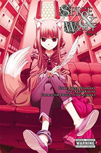 Manga Spice and Wolf Vol. 5