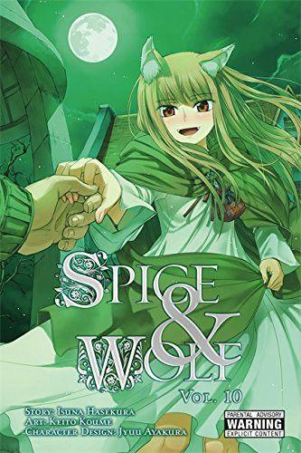 Manga Spice and Wolf Vol. 10
