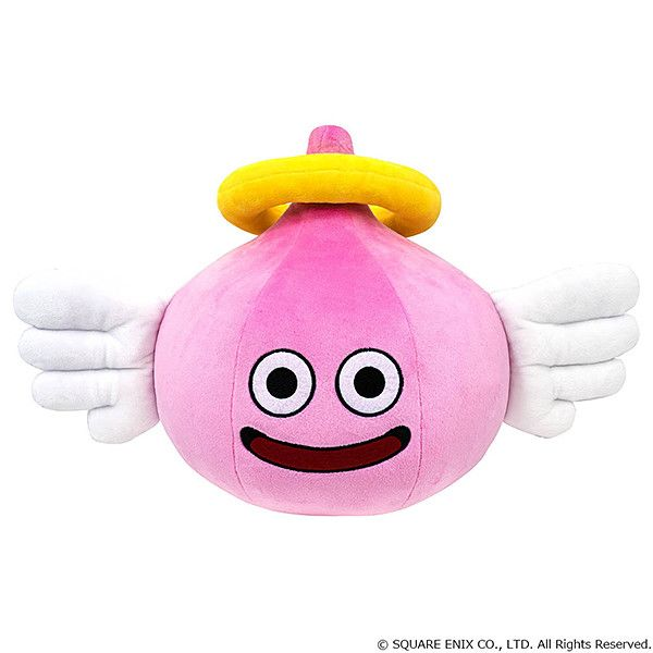 Dragon Quest Smile Slime Plush Angel Slime L (41cm)