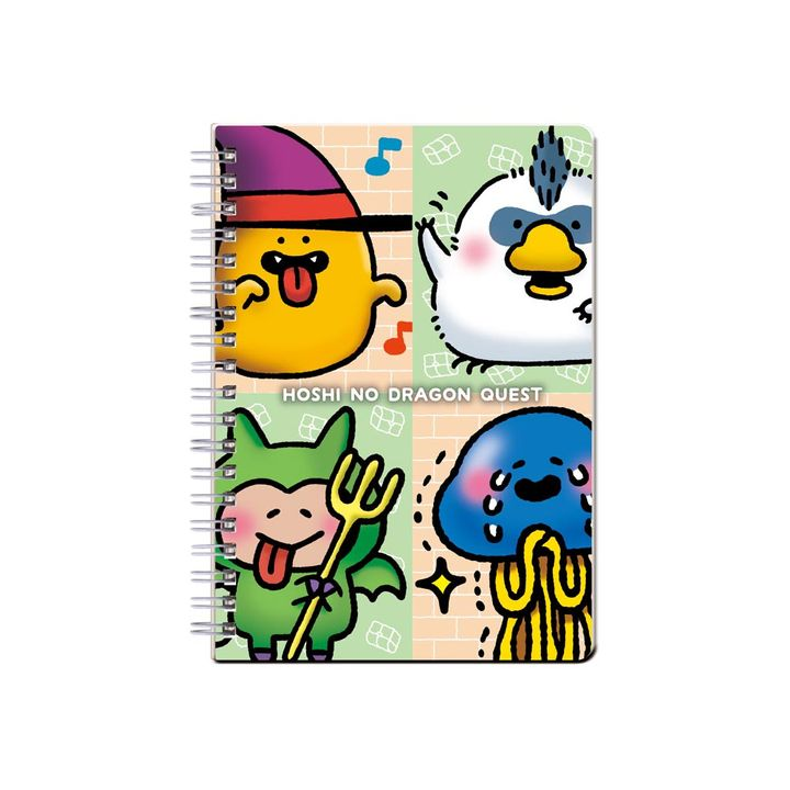Hoshi no Dragon Quest Ring Notebook B6