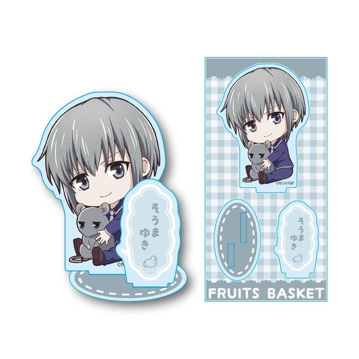 Fruits Basket GyuGyutto Acrylic Figur Soma Yuki
