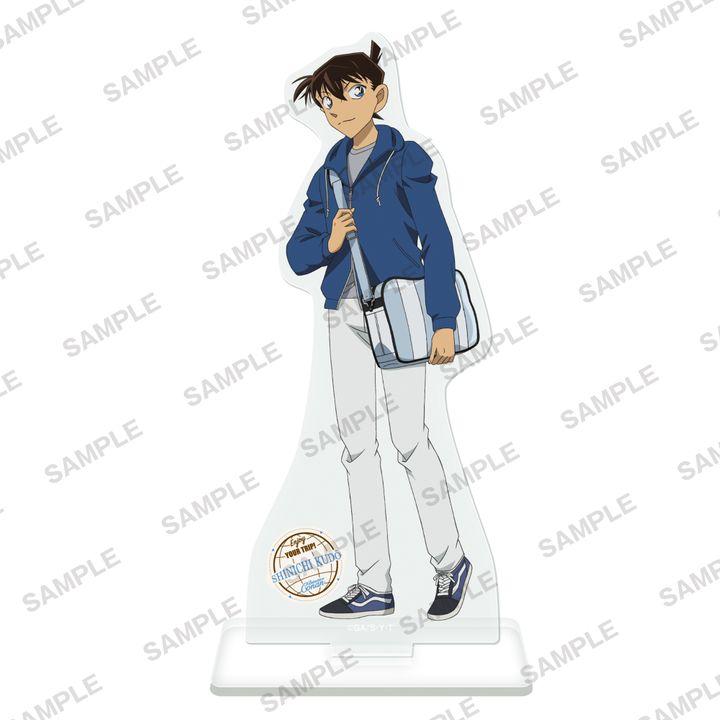 Detective Conan Acrylic Stand Figur Travel Ver. Kudo Shinichi