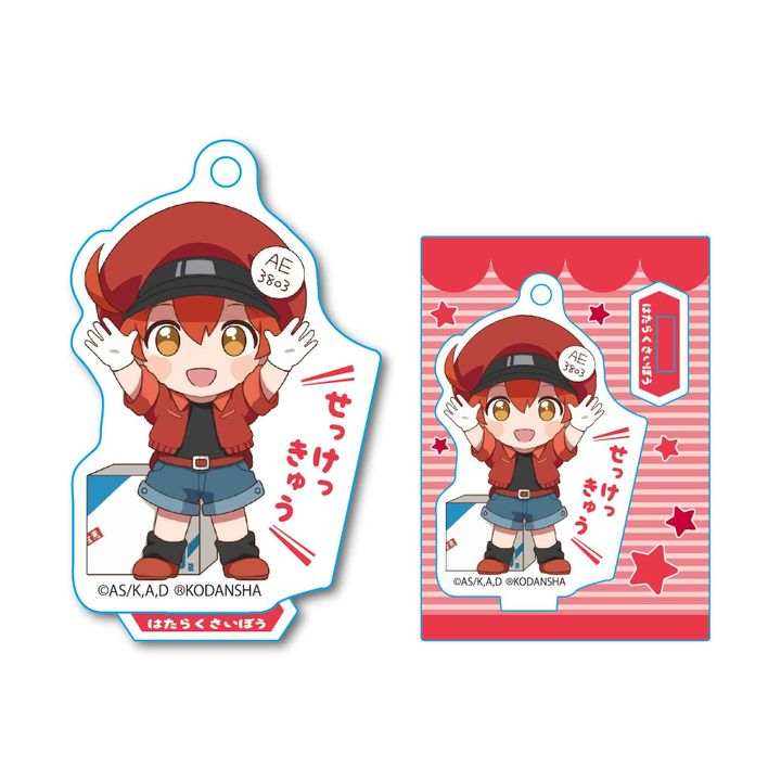 Cells at Work! Banzai Mini Stand Red Blood Cell