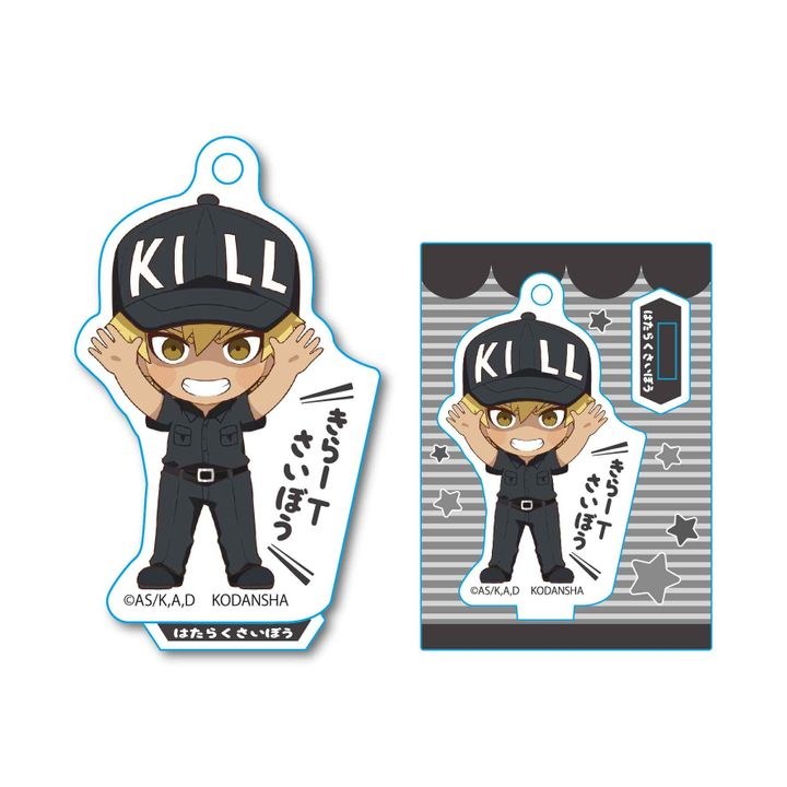 Cells at Work! Banzai Mini Stand Killer T Cell