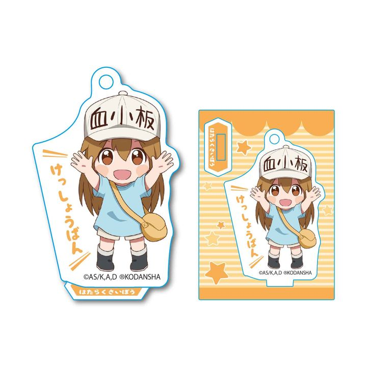 Cells at Work! Banzai Mini Stand Platelet