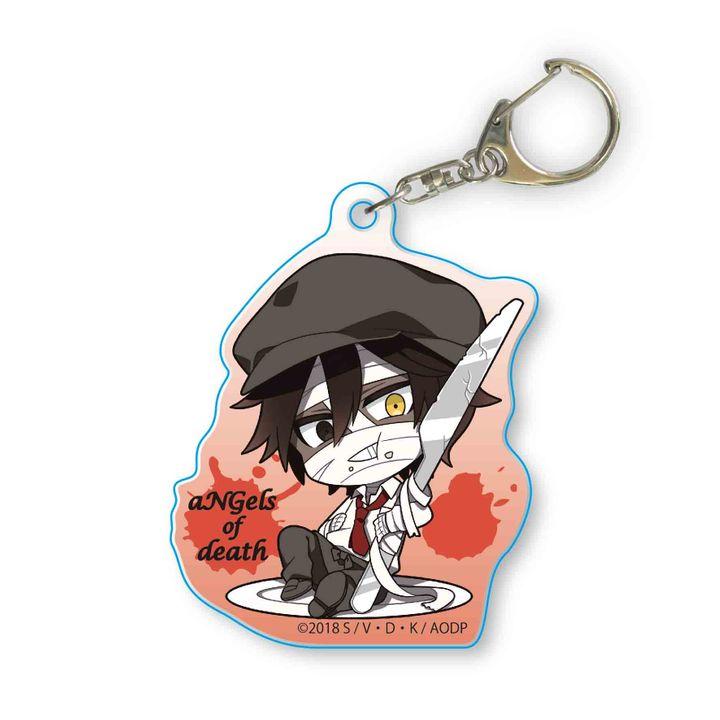 Satsuriku no Tenshi Gochi Chara Acrylic Key Chain Zack