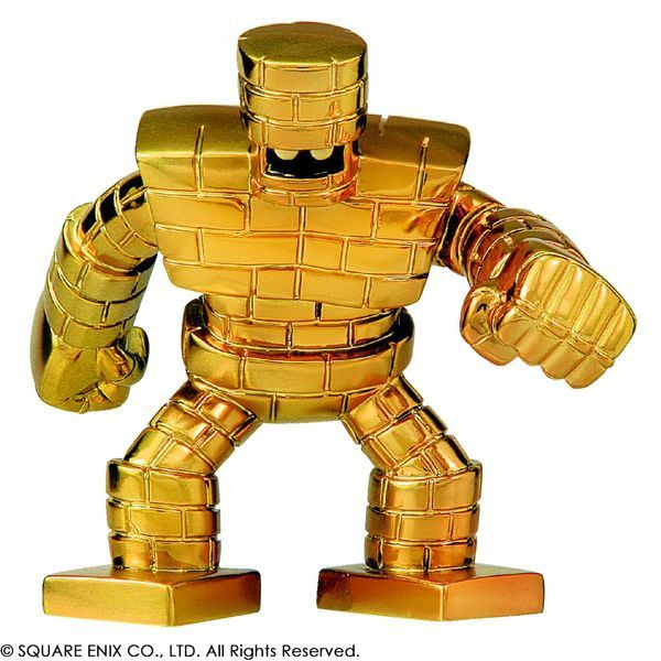 Dragon Quest Metalic Monsters Gallery Gold Golem