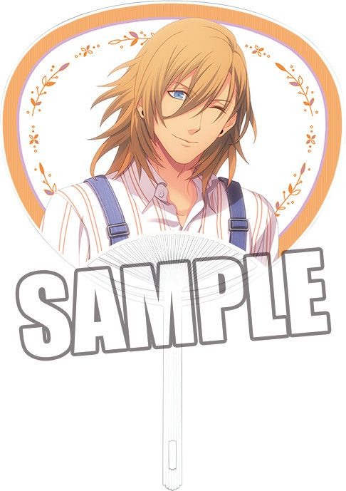 Uta no Prince-sama Paper Fan Fresh Shower Ver. Jinguji Ren