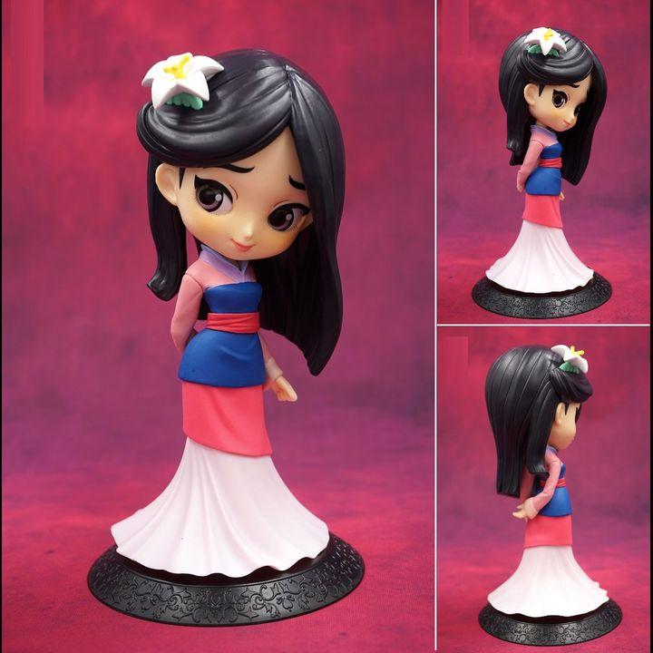 [JAPAN VER] Q Posket Figure Mulan 1998 - Special Color ver.  (14cm)