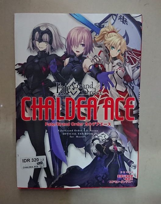 Fate/Grand Order Chaldea Ace [Fate/Grand Order 1st Season OFFICIAL FAN BOOK for Masters]