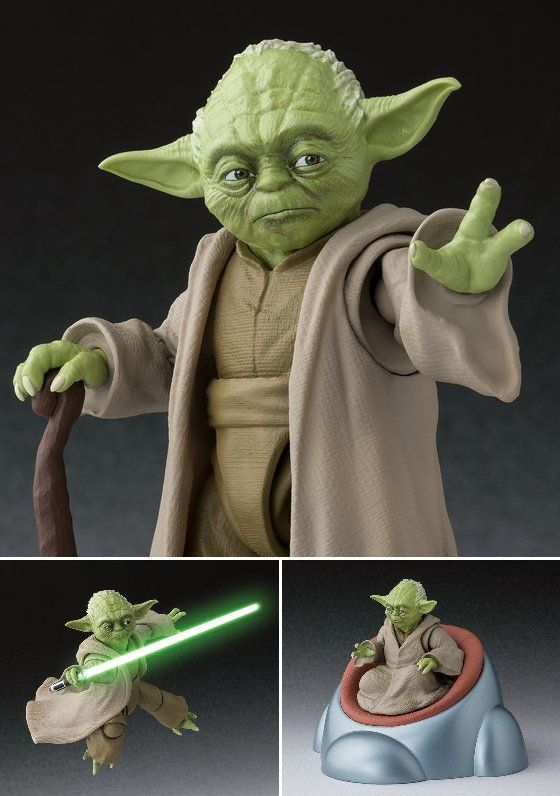 Shf S H Figuarts Yoda Star Wars Revenge Of The Sith Kyou Hobby Shop